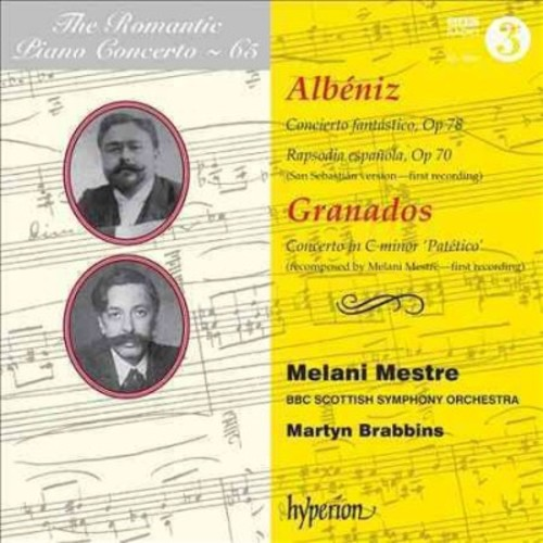 Melani Mestre - The Romantic Piano Concerto, Vol. 65: Albniz, Granados (CD)