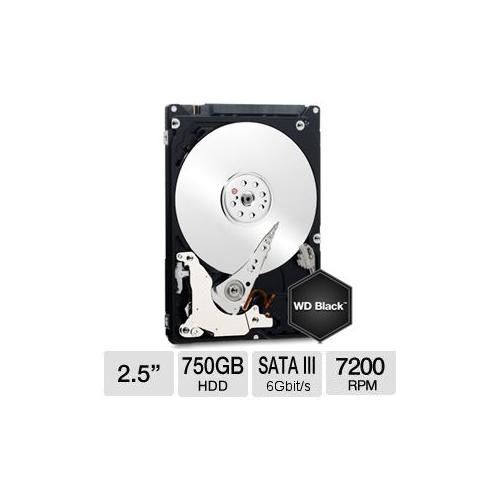 WD Blue 750 GB Internal hard drive Serial ATA-600 2.5