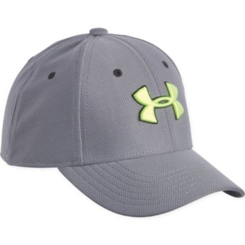 Under Armour Infant/Toddler Hi Vis Logo Cap in Graphite