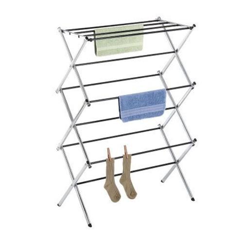 Whitmor Chrome Folding Drying Rack