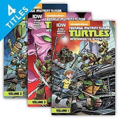 Teenage Mutant Ninja Turtles : New Animated Adventures (Library) (Kenny Byerly)