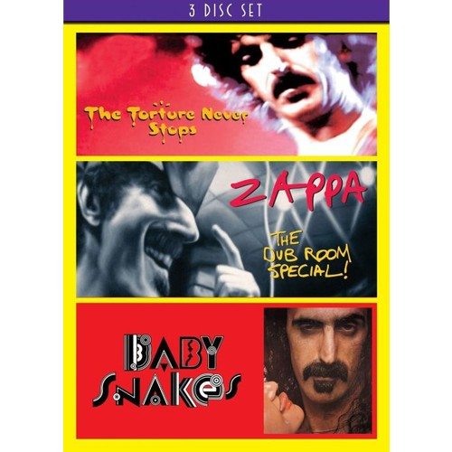 Frank Zappa: The Torture Never Stops/The Dub Room Special!/Baby Snakes [3 Discs] [DVD]