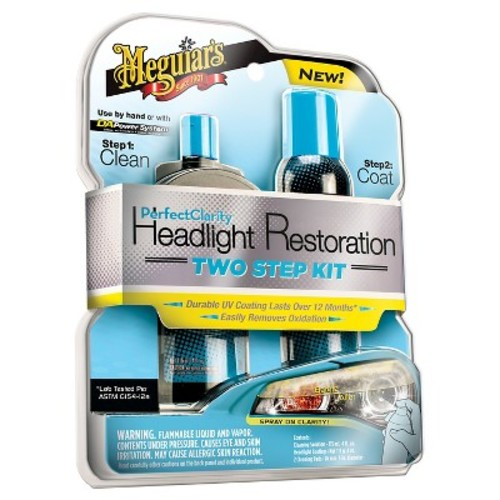 Meguiars Headlight Restoration Cleaning Kit