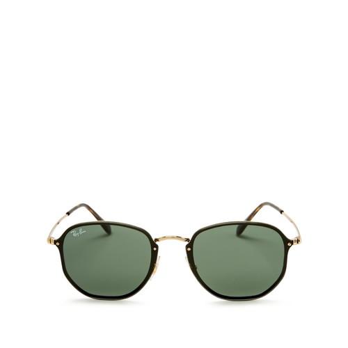 Blaze Rimless Square Sunglasses, 58mm