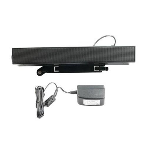 Dell C730C Stereo Sound Bar Speaker, Black