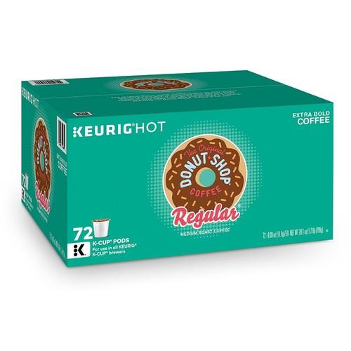Keurig K-Cup Pod The Original Donut Shop Coffee Regular Medium Roast Coffee - 72-pk.