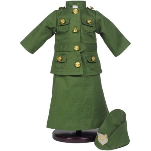 The Queen's Treasures Salvation Army Historic Uniform Skirt, Jacket and Hat Set Fits for 18-inch Doll