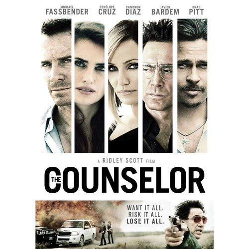 The Counselor [DVD] [2013]
