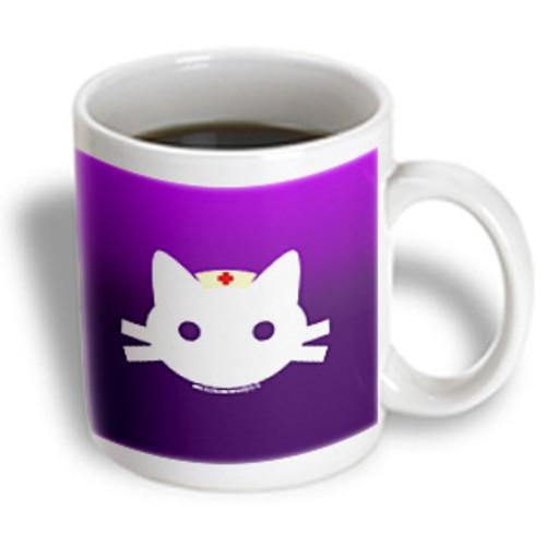 3dRose - Deniska Designs Nurse - Nurse Kitty - 15 oz mug