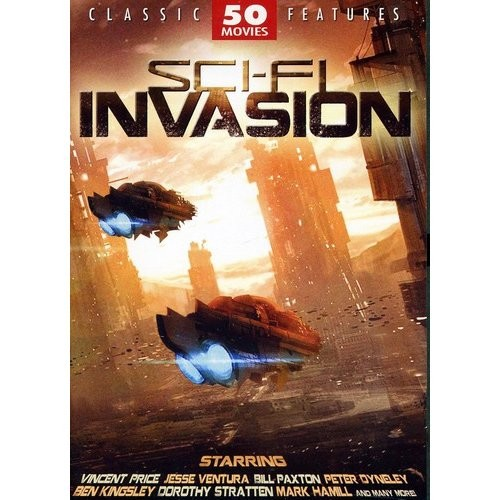 Sci-Fi Invasion: 50 Movies [12 Discs] [DVD]