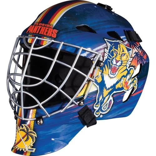 Franklin Sports GFM 1500 NHL Carolina Panthers Goalie Face Mask