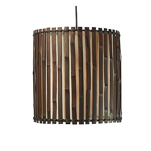 Kenroy Home Grove 1-Light Pendant in Bronze