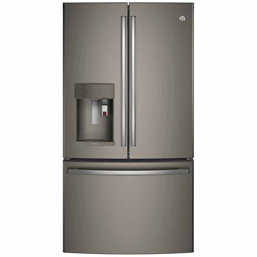 GE PFE28PBLTS Profile Series ENERGY STAR 27.8 cu. ft. French-Door Refrigerator with Keurig K-Cup Brewing System