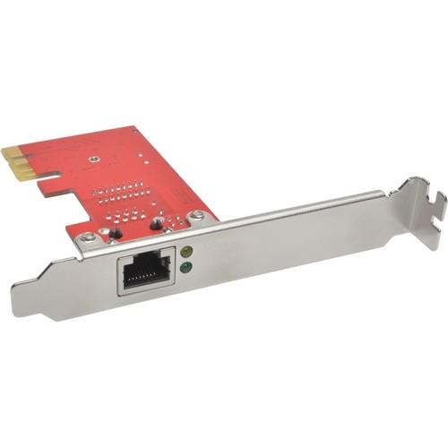 Tripp Lite 1-Port Gigabit Ethernet (GbE) PCI Express (PCIe) Card, Ful