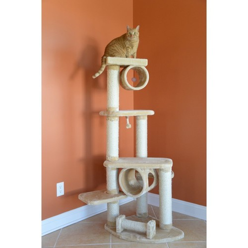 Armarkat Cat Jungle Gym Pet Furniture Condo Scratcher - A7463B