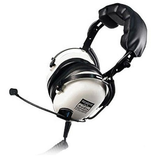 Remote Audio HN-7506 Headphones with Dynamic Boom Mic and Coiled Cable HN7506DBC