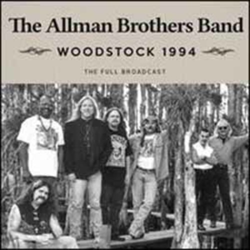 Woodstock 1994/Cd Allman Brothers Band