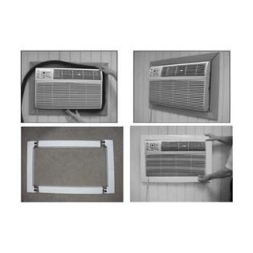 Frigidaire EA120T Trim Kit for 26 Through-the-Wall Air Conditioners with Plastic Construction and White Glossy Finish