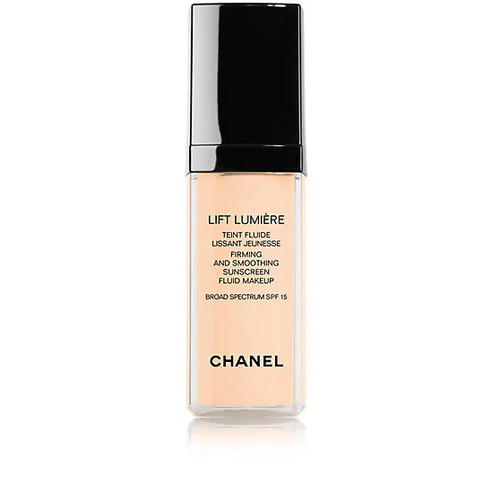 CHANEL Lift Lumire Firming And Smoothing Sunscreen Fluid Makeup Broad Spectrum SPF 15
