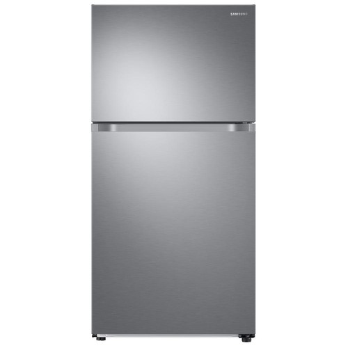 Samsung 21.1 cu. ft. Top Freezer Refrigerator with FlexZone Freezer in Stainless, Energy Star