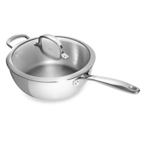 OXO Good Grips Tri-Ply Pro 3.5-Quart Stainless Steel Covered Saucepan