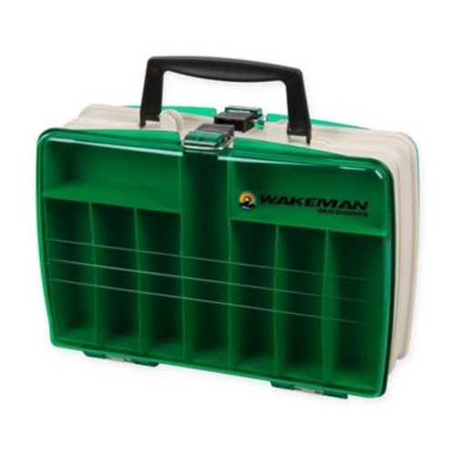 Wakeman Briefcase Style Tackle Box in Green