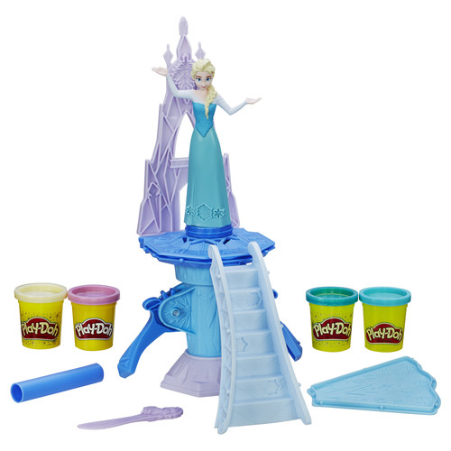 Play-Doh Disney Frozen Enchanted Ice Palace Featuring Elsa