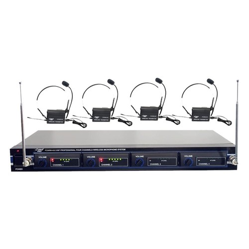 PylePro - PYLE Pro Wireless Condenser Lavalier Microphone System