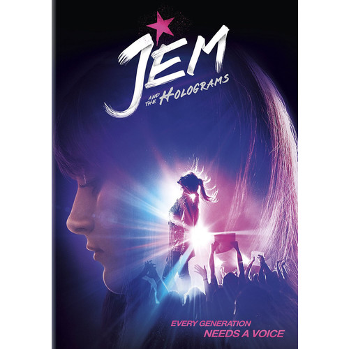 Jem and the Holograms [DVD] [2015]