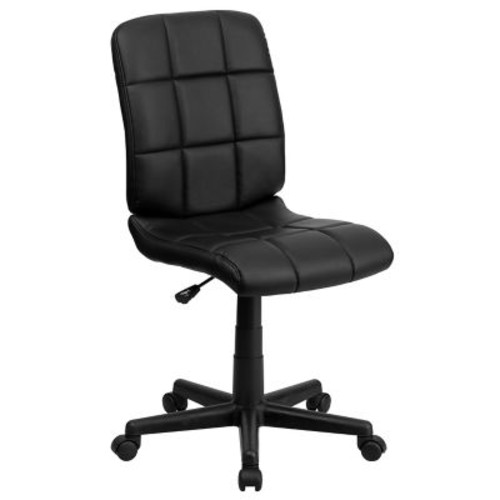 Flash Furniture Mid-Back Quilted Vinyl Task Chairs