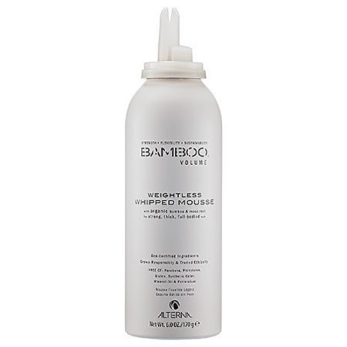 Alterna Bamboo Volume Weightless Whipped Mousse for Unisex, 6 Ounce [6 oz]