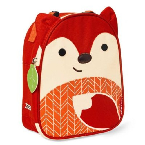 SKIP*HOP Zoo Lunchies Insulated Lunch Bag in Fox