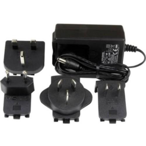 StarTech 9 V/2 A DC Power Adapter for Ethernet Media Converter, Black (SVA9M2NEUA)