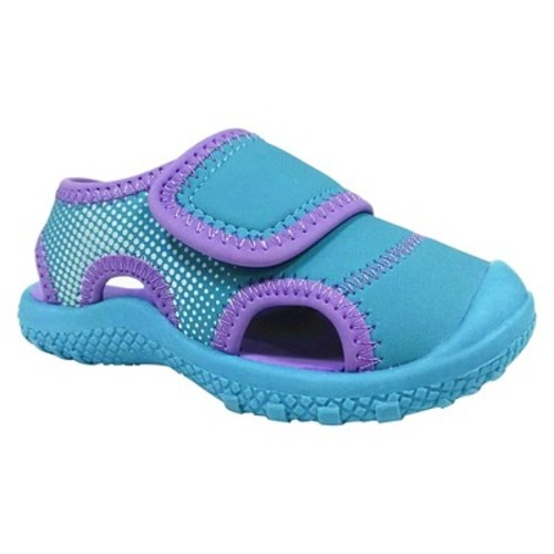 Toddler Girls' Water Shoes Turquoise - Cat & Jack