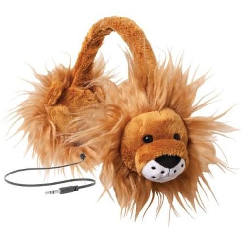 ReTrak ETAUDFLION Retractable Animalz Headphones, Lion