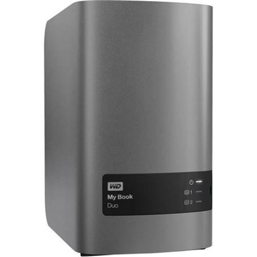 WD 12TB My Book Duo External Storage Array (2x 6TB) WDBLWE0120JCH-NESN