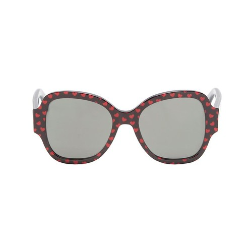 SAINT LAURENT Heart Pattern Sunglasses