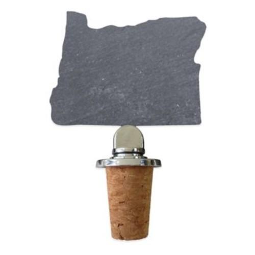 Top Shelf Living Slate Oregon Wine Stopper
