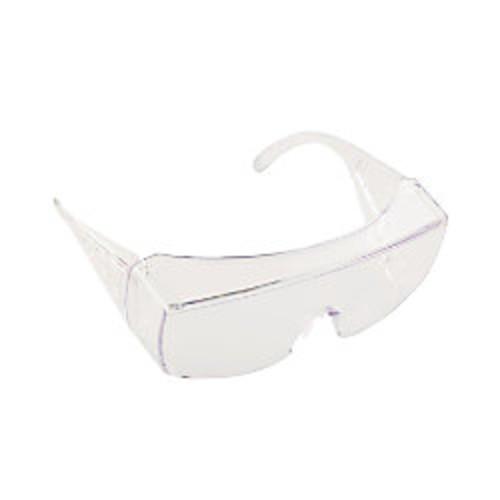 Crews Yukon Safety Glasses, Wraparound, Clear Lens