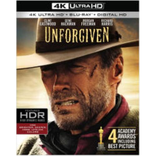 Unforgiven [4k UHD] [Blu-Ray] [Digital HD]