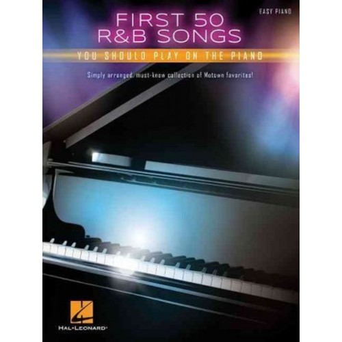 First 50 R&B Songs You Should Play on Piano (Paperback)
