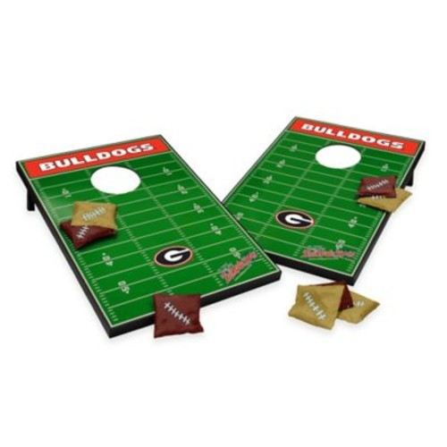 NCAA University of Georgia Field Tailgate Toss Cornhole Game
