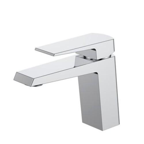 Kube Bath Aqua Chiaro Single Lever Wide Spread Bathroom Faucet