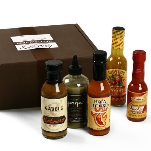 Hot Sauce Lover's Gift Box (37 ounce)