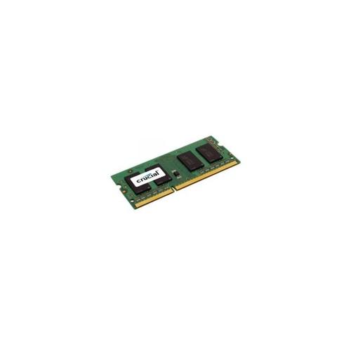 MICRON CT51264BF160BJ 4 GB - DDR3 SDRAM - 1600 MHz DDR3-1600/PC3-12800 - 1.35 V - Non-ECC - Unbuffered - 204-pin - SoDIMM