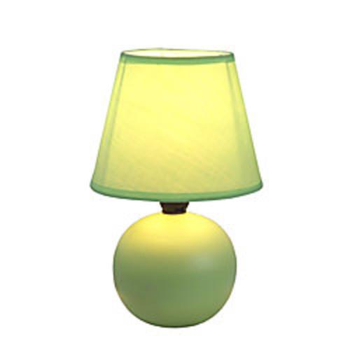 Simple Designs Mini Globe Table Lamp, 8 7/8