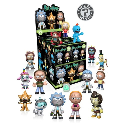Funko Mystery Minis: Rick and Morty Series 1 2.5 inch Vinyl Figure - Blind Packs