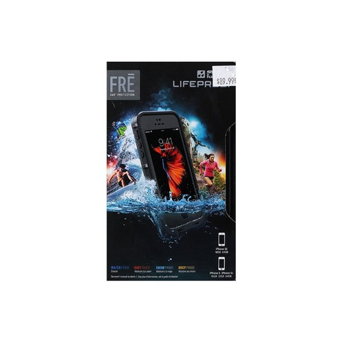 LifeProof - Fr Protective Case for Apple iPhone 5, 5s and SE - Gray, Grind grey