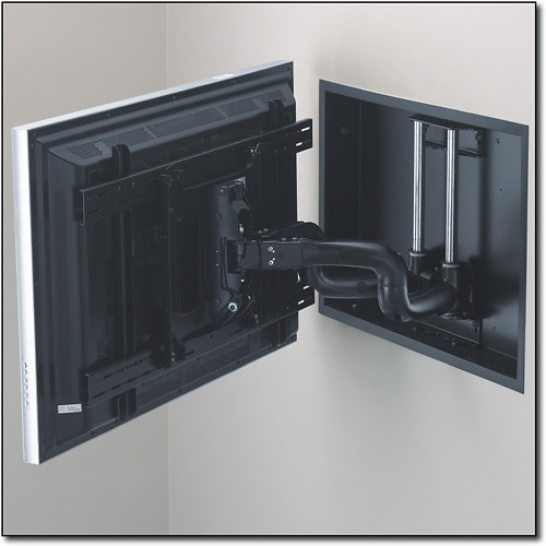 Chief - In-Wall Mount Dual Arm for Most Flat-Panel TVs Up To 71