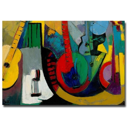 Boyer 'Strings' Canvas Art